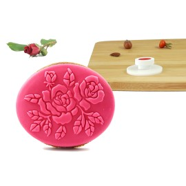 Stempel owalny - Róże