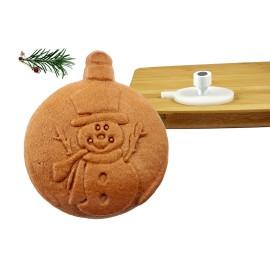 stempel do ciasta dzwonek stroik świąteczny