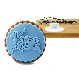Stempelek do ciastek na Wielkanoc Baranek