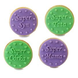 Super mama - stempelek do ciasteczek