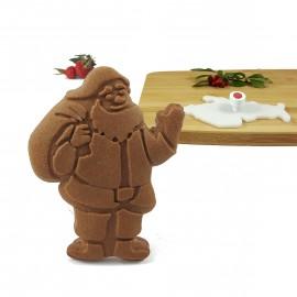 Stempel do ciastek - Mikołaj z workiem prezentów