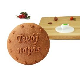 Twój Napis - personalizowany stempelek do ciastek